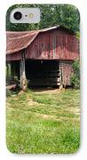 Broad Roofed Barn IPhone Case by Douglas Barnett