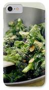Broccoli Stir Fry IPhone Case by David Munns