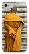 Buddhist Monk 2 IPhone Case