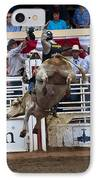 Bull With Some Big Air IPhone Case