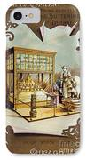 Butter Trade Card, C1880 IPhone Case by Granger