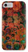 Buttons IPhone Case by Ann Powell