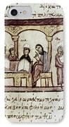 Byzantine Philosophy School IPhone Case by Granger