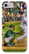 Cabrera Grand Slam IPhone Case by Nicholas  Grunas
