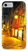 Cafe In Venice IPhone Case