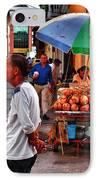 Calle De Coco IPhone Case by Skip Hunt