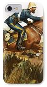 Captain Beresford In The Zulu Wars IPhone Case by James Edwin McConnell