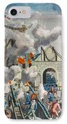 Capture Of Bastille, 1789 IPhone Case by Granger