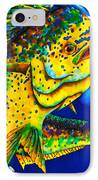 Caribbean Bull IPhone Case by Daniel Jean-Baptiste