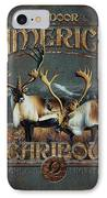 Caribou IPhone Case by JQ Licensing