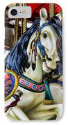 Carousel Horse 2 IPhone Case by Paul Ward