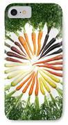 Carrot Pigmentation Variation IPhone Case by Science Source