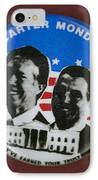 Carter Campaign Button IPhone Case by Granger