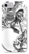 Cartoon: New Deal, 1937 IPhone Case by Granger