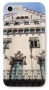 Casa Amatller Building Barcelona IPhone Case by Matthias Hauser