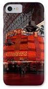 Casino Fremont Street Las Vegas IPhone Case by Susanne Van Hulst