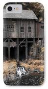 Cedar Creek Grist Mill IPhone Case by Steve McKinzie