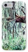 Cedar Draped In Spanish Moss IPhone Case