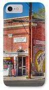 Cedarville California Grocery Store IPhone Case by Scott McGuire