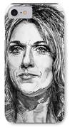 Celine Dion In 2008 IPhone Case by J McCombie