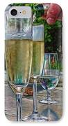 Champagne At The Beach IPhone Case