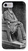 Charles Darwin (1809-1882) IPhone Case by Granger