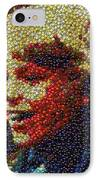 Charlie Buckets Fizzy Lifting Drinks  Bottle Cap Mosaic IPhone Case by Paul Van Scott