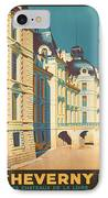 Chateau De Cheverny IPhone Case by Georgia Fowler