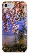 Cherry Blossoms In The Sun - New York City IPhone Case by Vivienne Gucwa