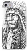 Chief-iron-tail IPhone Case