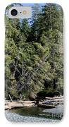China Creek China Beach Juan De Fuca Provincial Park Bc Canada IPhone Case by Andy Smy