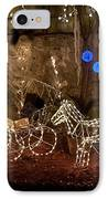 Christmas Carriages IPhone Case by DigiArt Diaries by Vicky B Fuller