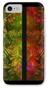 Christmas Fern Diptych IPhone Case by Judi Bagwell