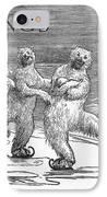 Christmas: Polar Bears IPhone Case by Granger