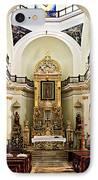 Church Interior In Puerto Vallarta IPhone Case by Elena Elisseeva