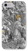 Church Of St James The Greater Prague - Stucco Bas-relief IPhone Case by Christine Till