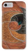 Circular Koin IPhone Case by Jean Noren