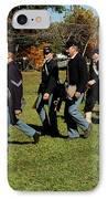 Civil Soldiers March IPhone Case by LeeAnn McLaneGoetz McLaneGoetzStudioLLCcom