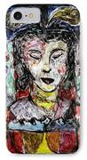Cleopatra In Spring IPhone Case by Mykul Anjelo