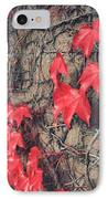 Clinging IPhone Case by Laurie Search