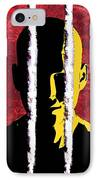 Cocaine Addiction, Conceptual Artwork IPhone Case