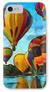 Colorado Springs Hot Air Balloons IPhone Case by Nikki Marie Smith
