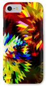 Colorful Blade IPhone Case