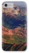 Colorful Colorado Rocky Mountains Planet Art IPhone Case by James BO  Insogna