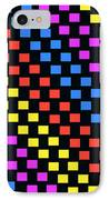 Colorful Squares IPhone Case