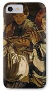 Concert IPhone Case by Hendrick Ter Brugghen