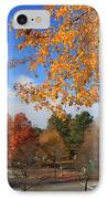 Concord Massachusetts In Autumn IPhone Case