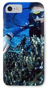 Coral Research IPhone Case
