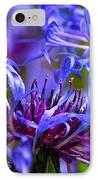 Cornflower Color IPhone Case