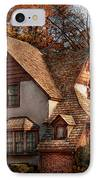 Cottage - Westfield Nj - Family Cottage IPhone Case by Mike Savad